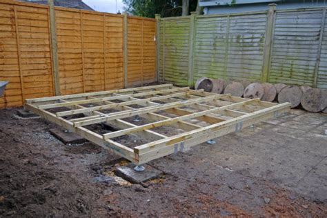 choose   shed foundation   shed project