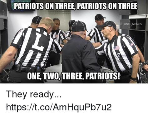 Nfl Memes Patriots - patriots on three patriots on three memes one twothree