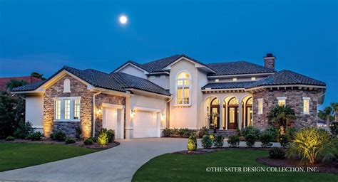 dan sater luxury homes house plan massimo sater design collection