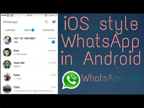themes for whatsapp gb how to install ios whatsapp easily in android ios style