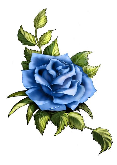 lilac rose tattoo best 25 blue tattoos ideas on thigh
