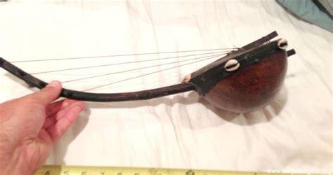 Handmade Mandolin For Sale - antique tribal banjo mandolin leather guitar handmade