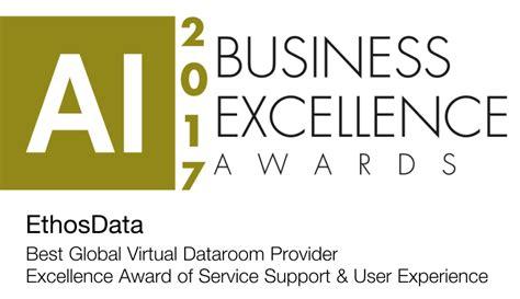 ethos data room login awards ethosdata data room service provider
