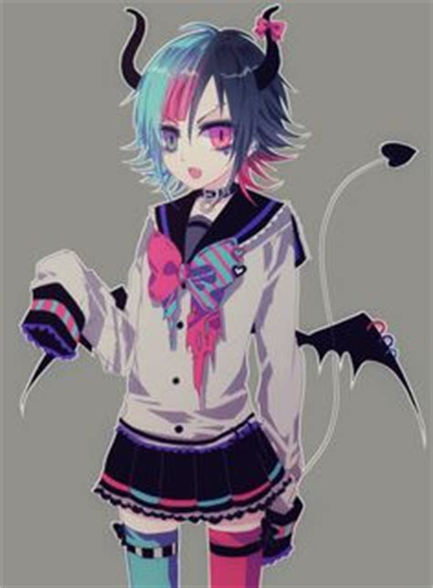 anime demon girl with short hair 1000 images about heterochromic eyes on pinterest anime