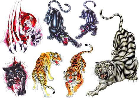 dragon tiger tattoo designs image result for japanese embroidery flash