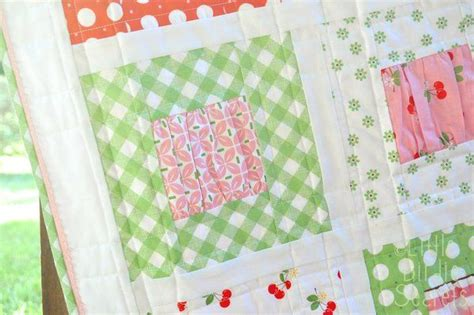 gather baby quilt easy tutorial for such a baby