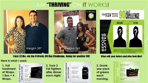 90 day challenge it works health and i am quot thriving quot with it works 90