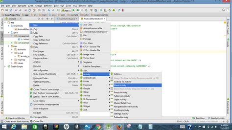 android studio create layout folder java unexpected file added when creating new blank