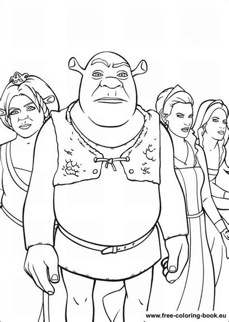 Coloring pages Shrek - Page 2 - Printable Coloring Pages