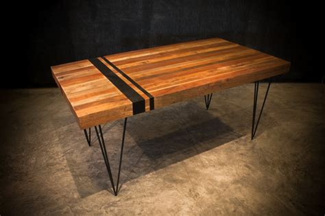 reclaimed wood dining table contemporary dining tables industrial dining table handcrafted from reclaimed wood