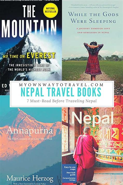 7 Must Read Books For by 7 Must Read Books Before Travelling Nepal My Own Way To