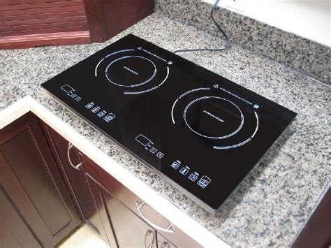 double true induction cooktop  induction electric