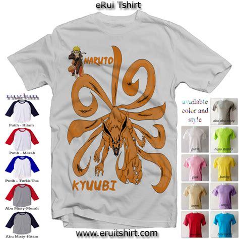 Kaos Gaara Kesepian Size M erui tshirt tanpa minimum order dan bisa design sendiri