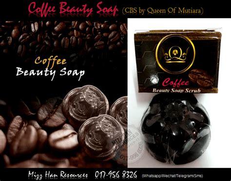 Sabun Qm coffee soap by qm mhr stokis produk kecantikan