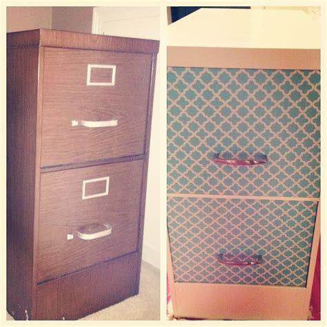 contact paper file cabinet