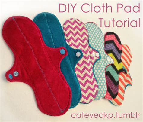 Diy Menstrual Pads by How To Sew Your Own Cloth Pads Diy Cloth Pad Tutorial