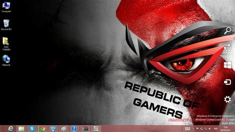 republic of gamers wallpaper pack download gratis tema windows 7 asus theme for windows 7 and 8