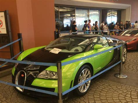 green bugatti unique green bugatti veyron super sport recreation from