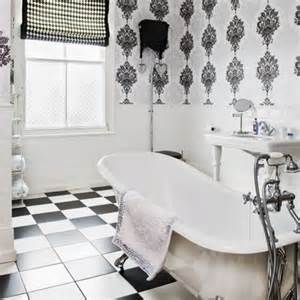 Small Bathroom Ideas Black And White by Black And White Bathrooms Ideas Homes Gallery