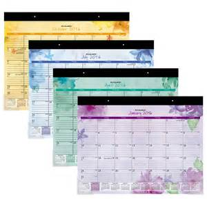 At A Glance Desk Calendar by At A Glance Desk Pad Beautiful Day Desk Pad Monthly