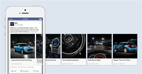 format video fb les publicit 233 s carrousel de facebook s 233 tendent maintenant