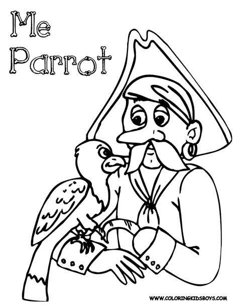 Scurvy Pirate Coloring Pages Pirates Pirate Costume Pirate Coloring Pages Printable