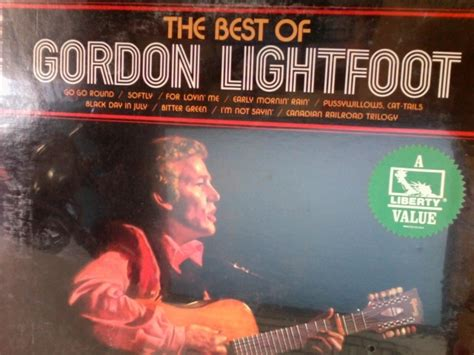 Cd And Gordon The Best Of gordon lightfoot best of gordon records lps vinyl and cds musicstack