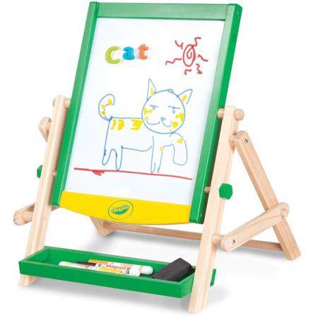 table top easel walmart crayola wood qwikflip table top easel walmart com