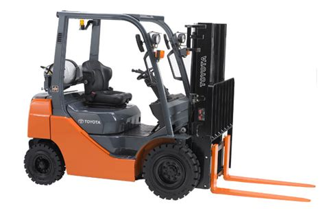 setting the standard with toyota s 8 series forklift