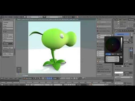 Zombie Blender Tutorial   plants vs zombie blender tutorial youtube