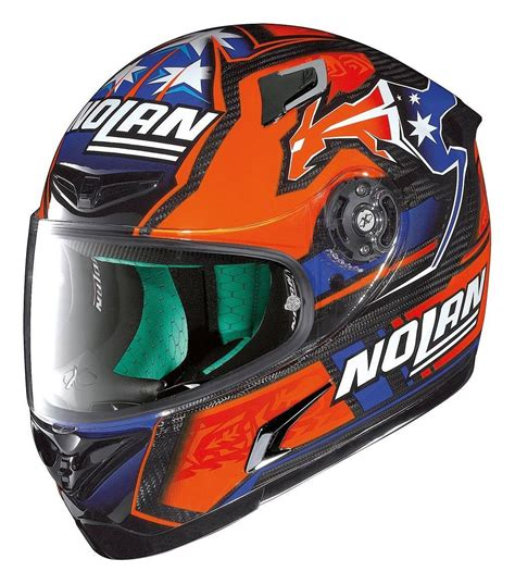 Helm Nolan Stoner X Lite X 802rr Ultra Carbon Nolan Stoner Replica Helmet