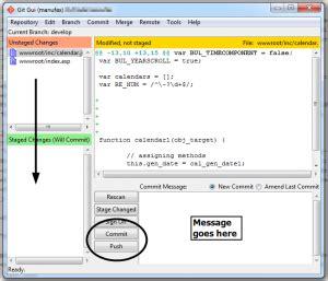git tutorial push commit rob church software food stuff engineer rambles