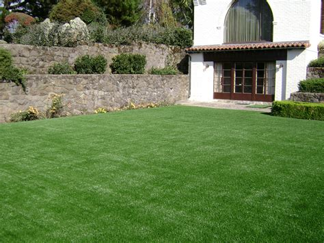 Backyard Astroturf by Triyae Grass Yards Various Design Inspiration