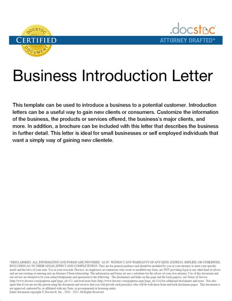 introduction letter to clients template 8 introduction letter to clients memo formats