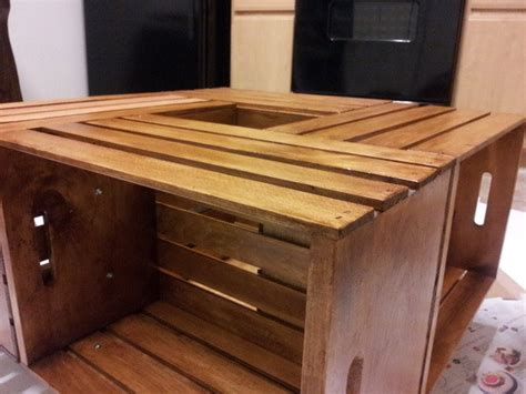 coffee table made out of wine crates how to make a coffee table out of wine crates easy diy