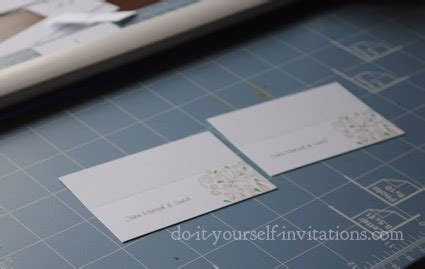 Do It Yourself Place Cards Templates by Invitation Template And Diy Invitations How To