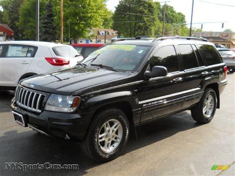 jeep grand cherokee black 2004 jeep grand cherokee laredo 4x4 in brillant black