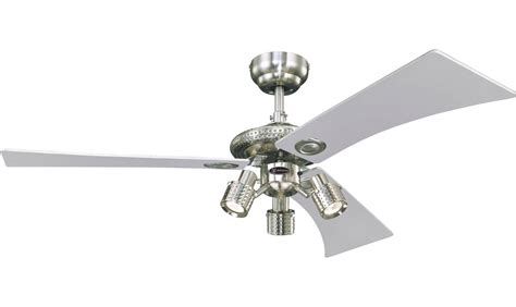 Westinghouse Ceiling Fan Light Westinghouse Ceiling Fan Audubon Nickel 122 Cm 48 Quot With Lights Ceiling Fans For Domestic And