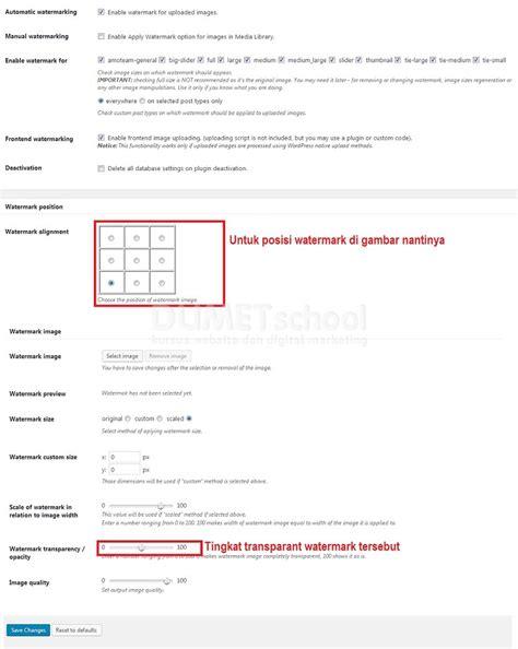 cara membuat watermark di n70 cara memasang watermark pada gambar di wordpress