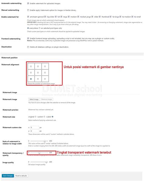 cara membuat watermark di wordpress cara memasang watermark pada gambar di wordpress