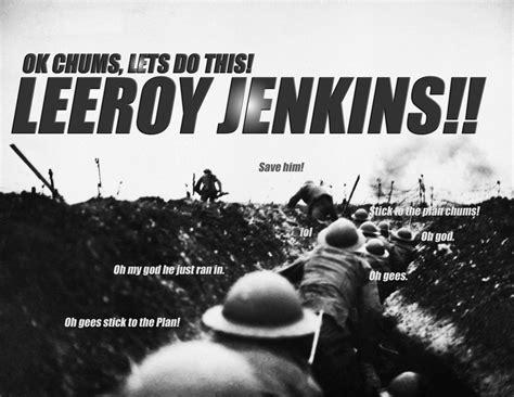 Leroy Meme - image 8533 leeroy jenkins know your meme