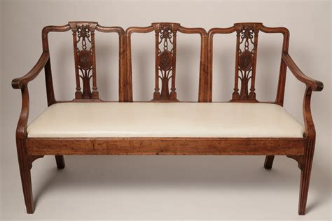 french provincial settee french provincial french provincial triple back settee
