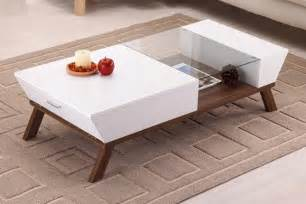 Space Saving Ideas For Small Apartments by Wide Designs Of White Coffee Table With Storage Homesfeed
