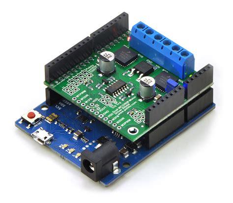 motor driver arduino pololu dual mc33926 motor driver shield for arduino