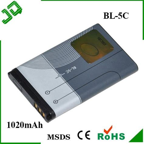 Battery Nokia Baterai Nokia Battery Nokia Type Bl 5j 8 1020mah bl 5c bl5c replacement battery forbl 5c n70 n71