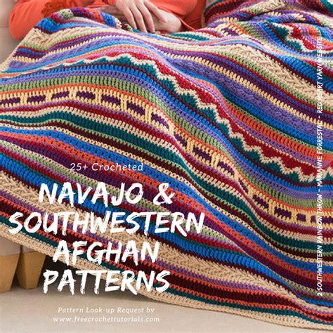 Crochet Patterns Crochet Blanket Pattern Tutorial southwestern style crochet blanket patterns navajo