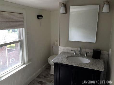 Bathroom Floor Update Upstairs Bathroom Update Almost Complete Lansdowne