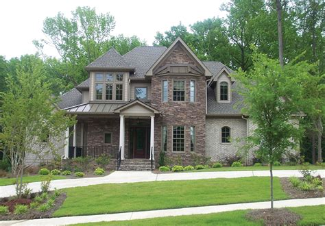 naperville european style home plan 026d 1324 house