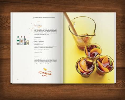 cocktail recipes book 1000 ideas about recipe book design on book