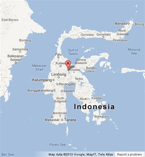 Most Beautiful Places In The World by Map Of Sulawesi World Easy Guides